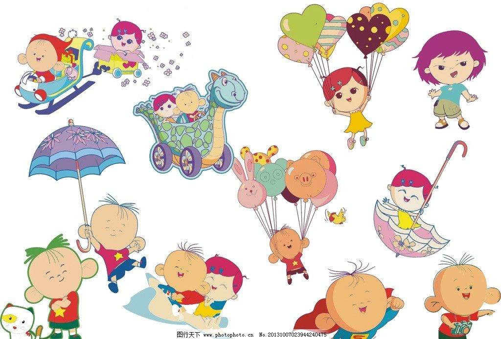 大耳朵图图 卡通人物 动漫 矢量图 可爱卡通 其他人物 矢量人物 矢量