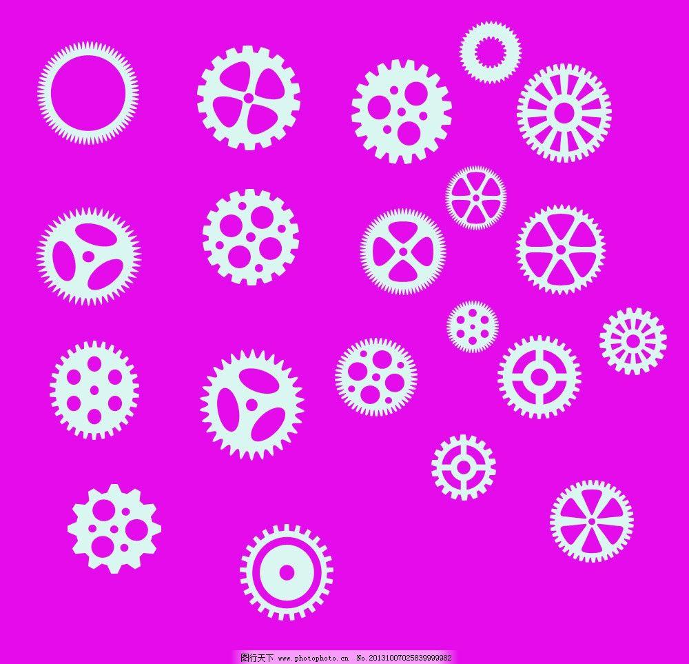 ps形状图片模板下载 ps形状 动物形状 花卉形状 圆圈形状 边框形状