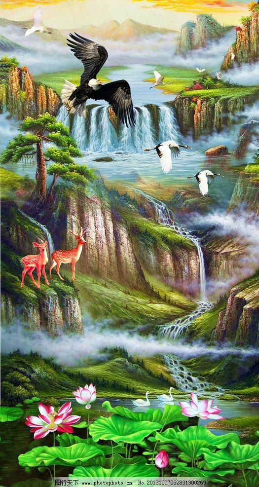 风景油画 油画 油画风景 欧式油画 油画山水 山水油画 风景 山水 山水