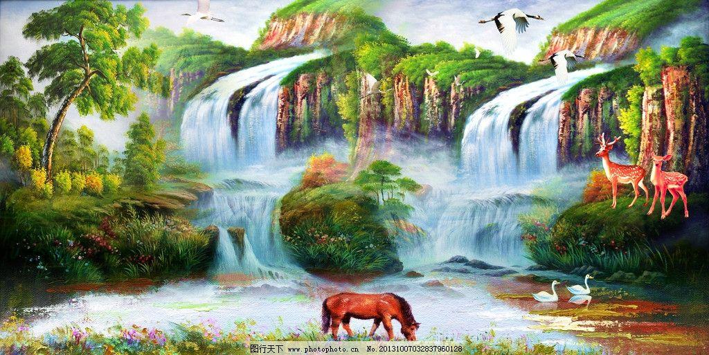 油画风景 风景油画 欧式油画 油画山水 山水油画 山水画 风景画