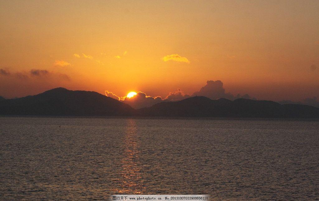 舟山日出 中国 浙江 舟山 海岛 清晨 日出 海水 国内旅游 旅游摄影 摄