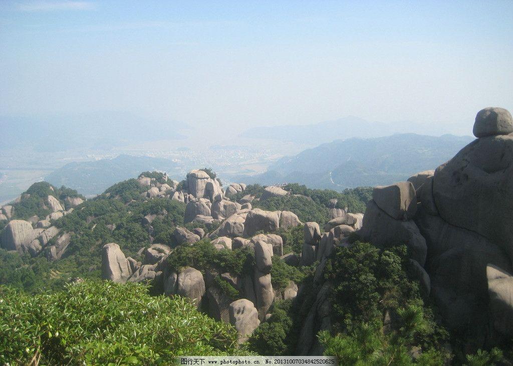 太姥山神奇山峰石头图片