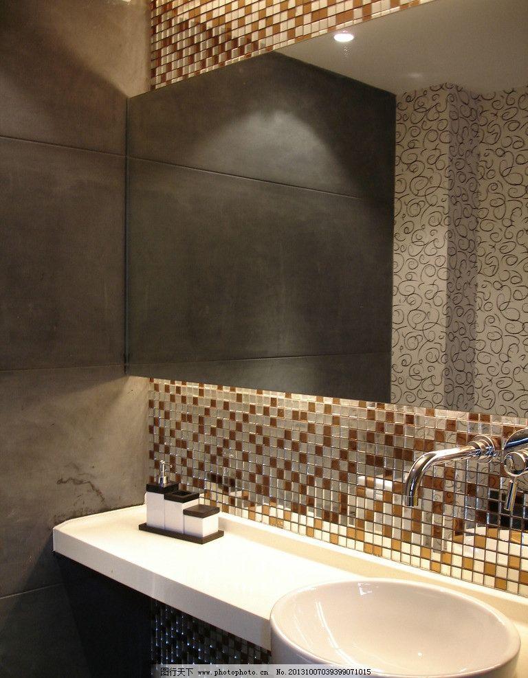 室内摄影 卫生间 洗手间装修效果图 面盆 洗脸台 室内装修 室内装修