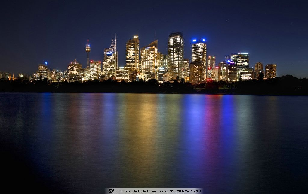 澳大利亚悉尼海岸摄影 摩天大楼 高楼大厦 俯瞰 高空摄影 云彩