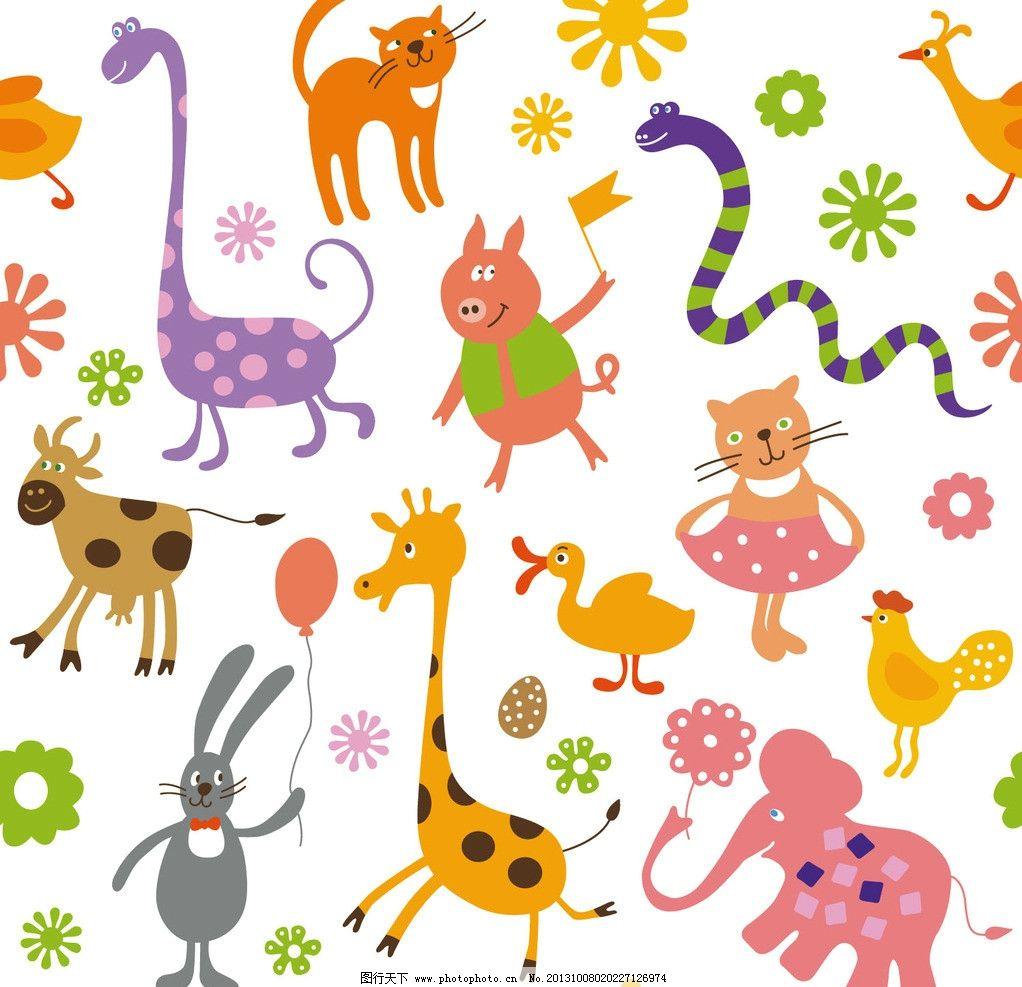 卡通 动物图片