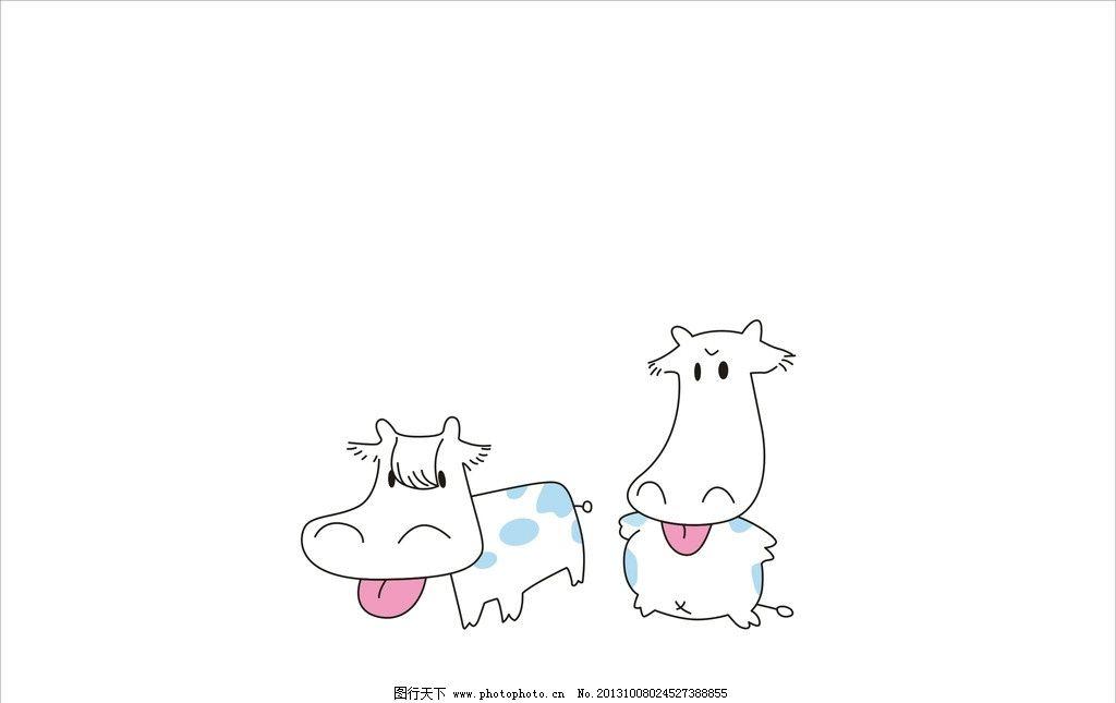 动物城牛局长简笔画