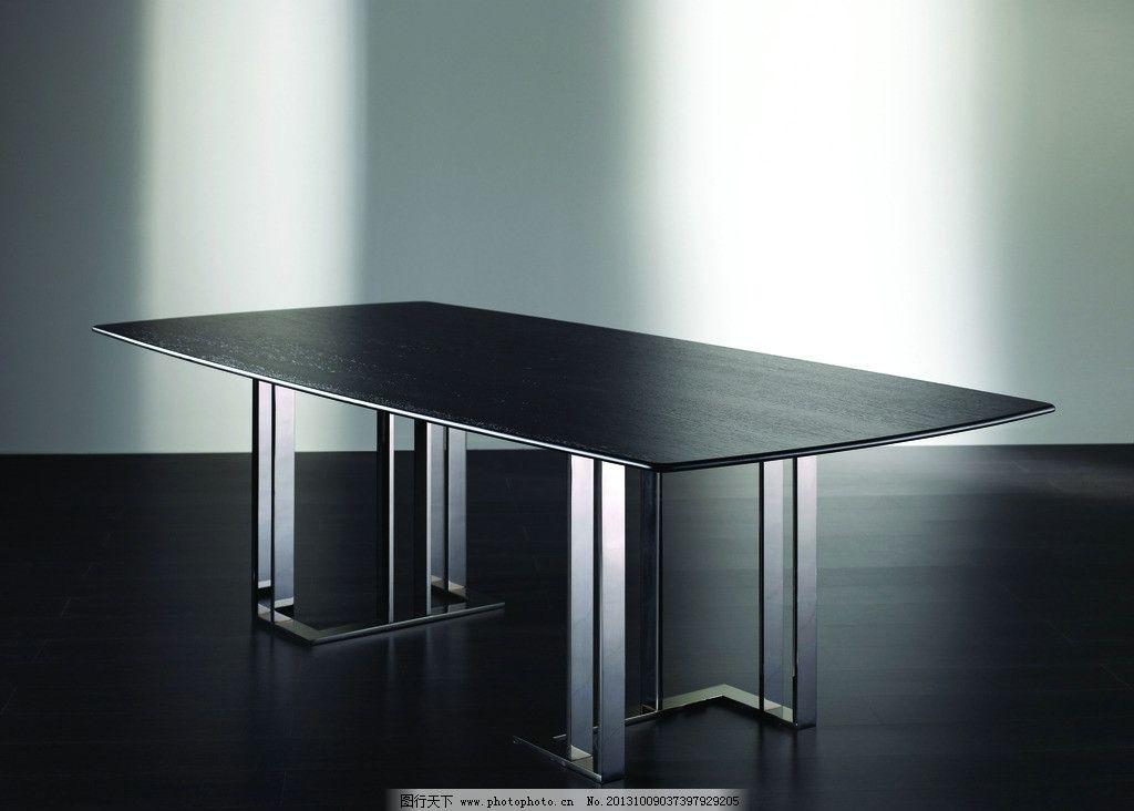 不锈钢以木塔配桌子