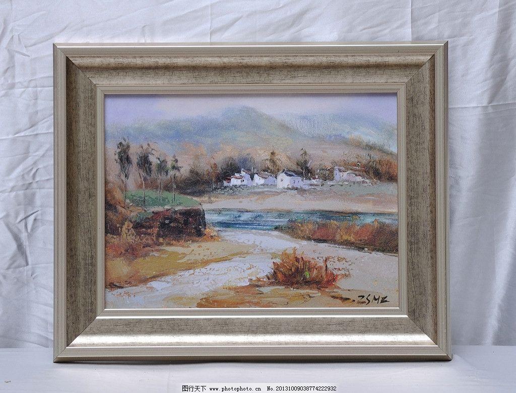 油画 相框画 欧式画 欧式油画 风景画 摄影 绘画 美术绘画 文化艺术
