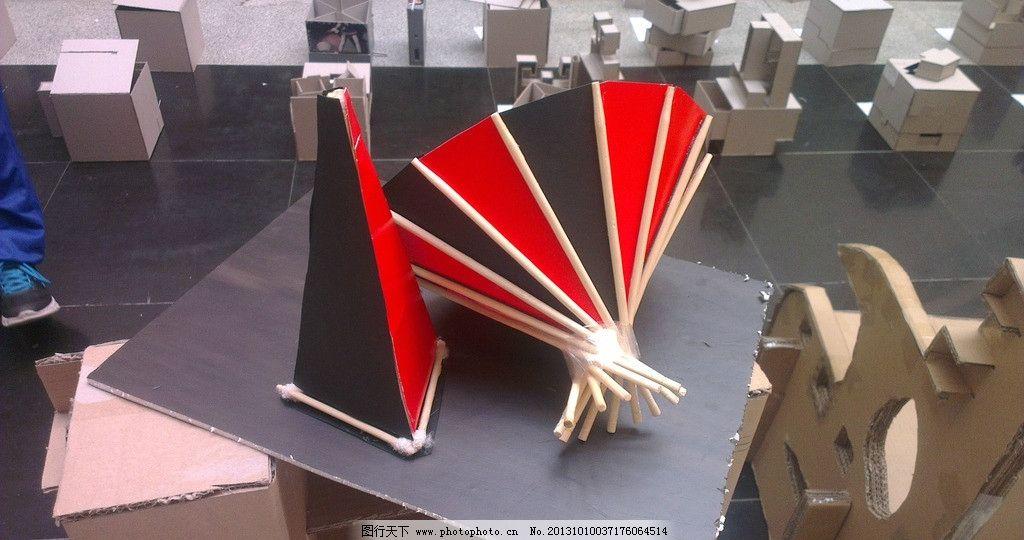 立体构成 线 鱼 筷子