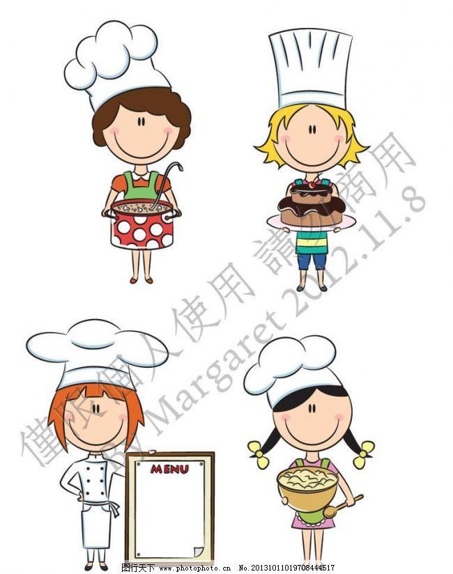 卡通大厨妈妈模板下载 卡通大厨妈妈 卡通 厨师 手绘 妈妈 下厨 母亲