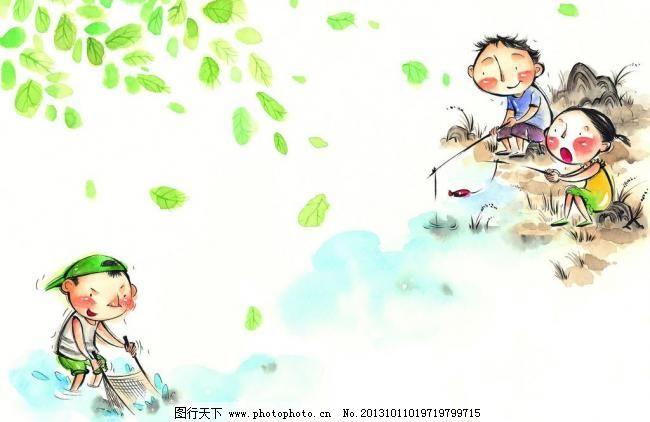 梦想 生活 彩粉画 蜡笔画 彩铅画 儿童画 卡通画 植物 花草 玩耍 人物