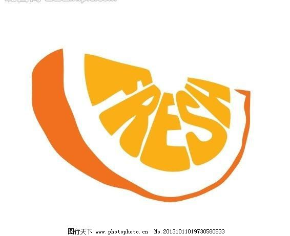 标志 水果logo