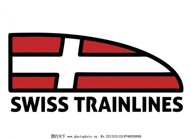 cis logo vi vis 版式 标记 标签 标志 标准 插画 火车logo矢量素材
