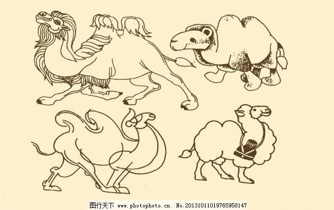 动物装饰画图片_插画集