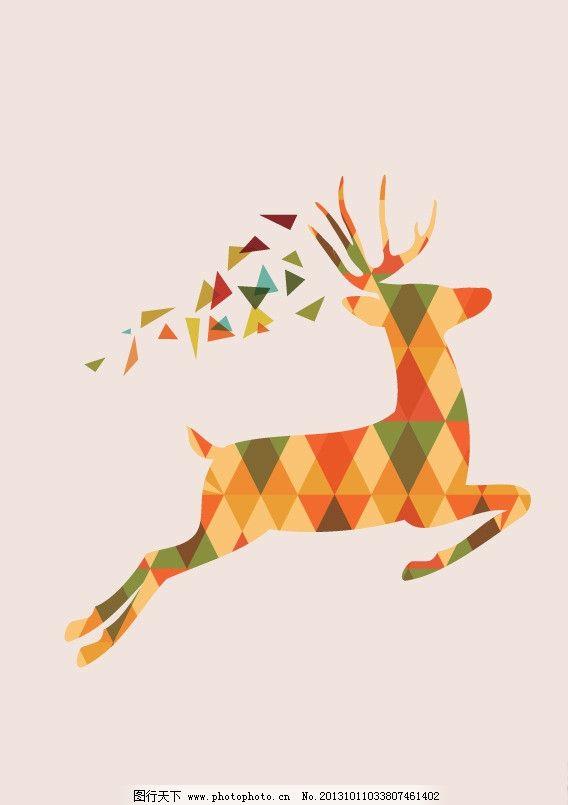 奔跑 奔跑的鹿