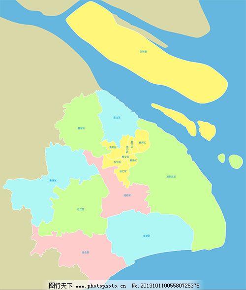 上海市地图矢量