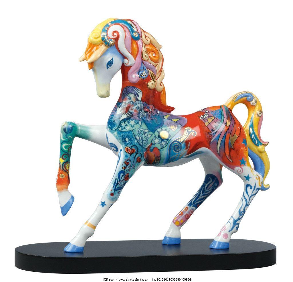 法国艺术家蒂埃里瓷马 高宝 法国 马 陶瓷 艺术品 传统文化 文化艺术