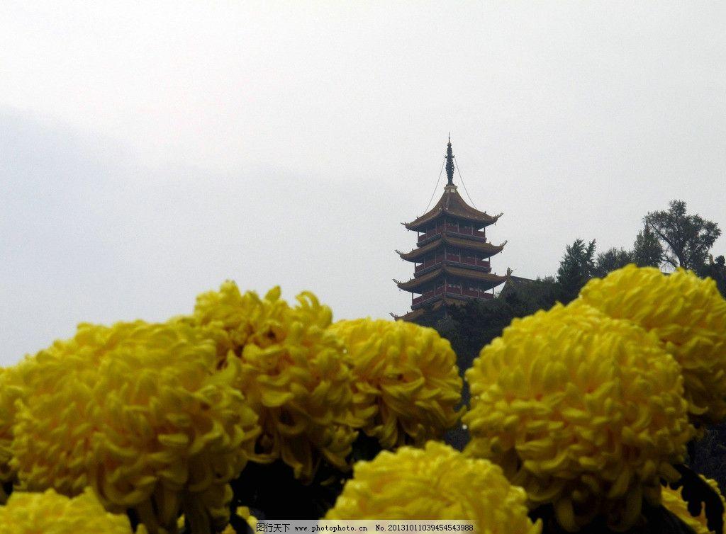 花团锦族支云塔图片