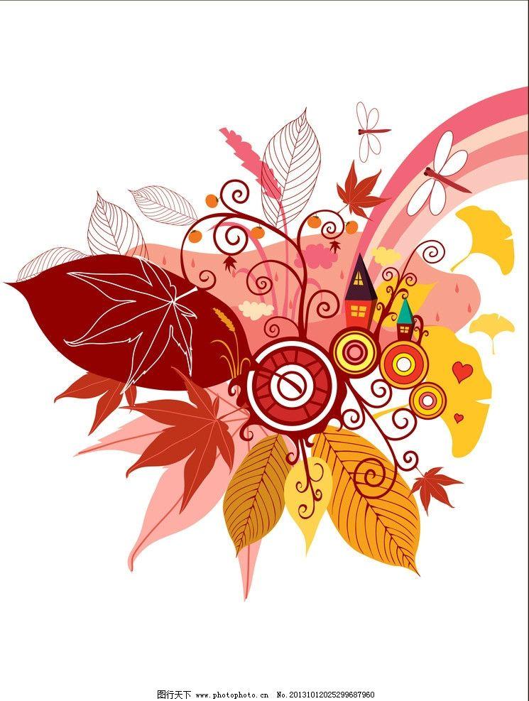 樹葉簡筆畫:三角楓葉_易速網
