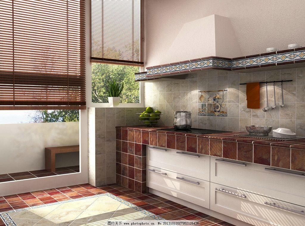 厨房橱柜效果图图片