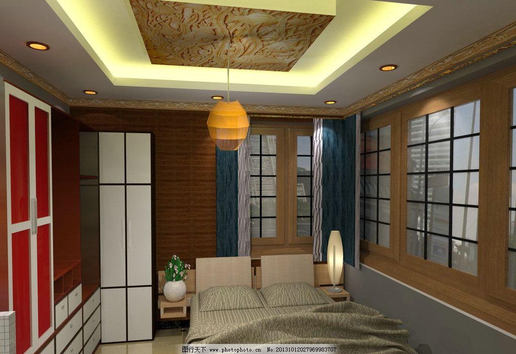 室内设计 室内创意 室内装修 室内装潢 室内 床铺 窗户 环境设计 设计