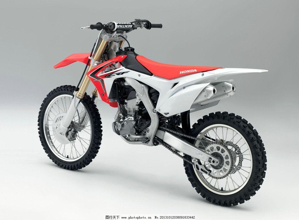 摩托车 越野车 跑车 登山车 山地车 本田 honda crf 交通工具 现代