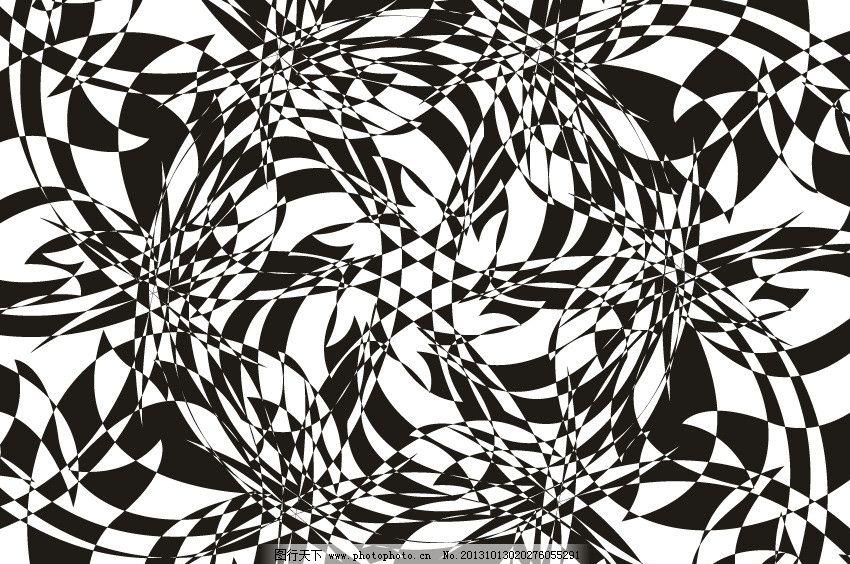 设计图库 海报设计 节日海报  不规则图形 不规则图像 抽象黑白背景