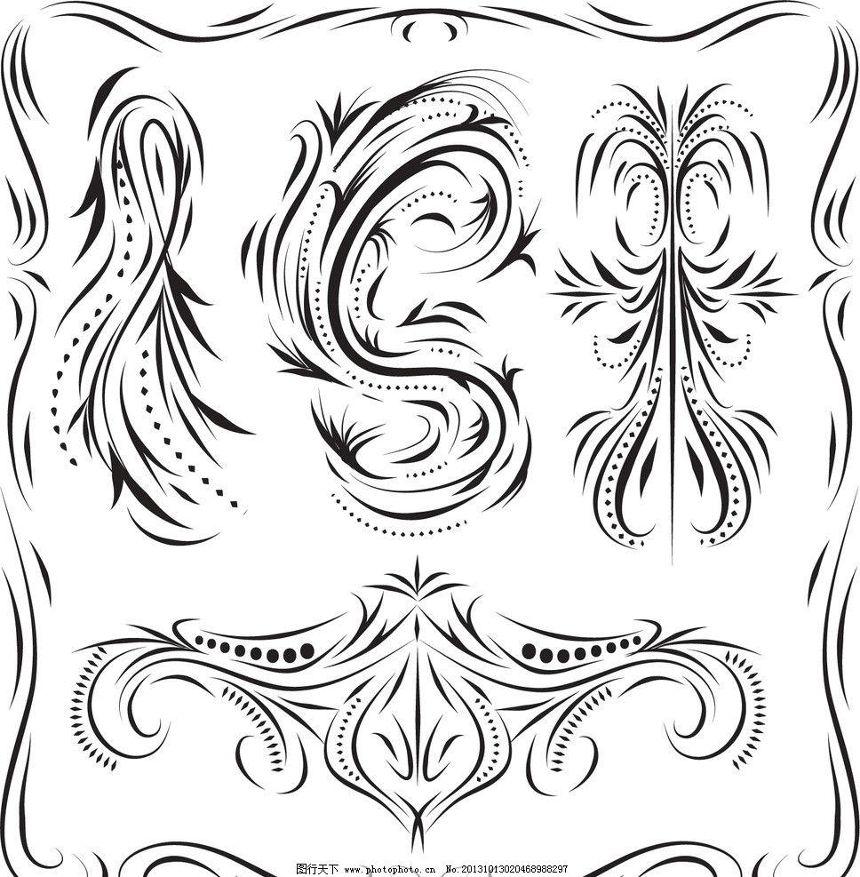 古典 复古 花纹 花边 卡片 邀请卡 请贴 请柬 传统花纹 装饰花纹 婚纱