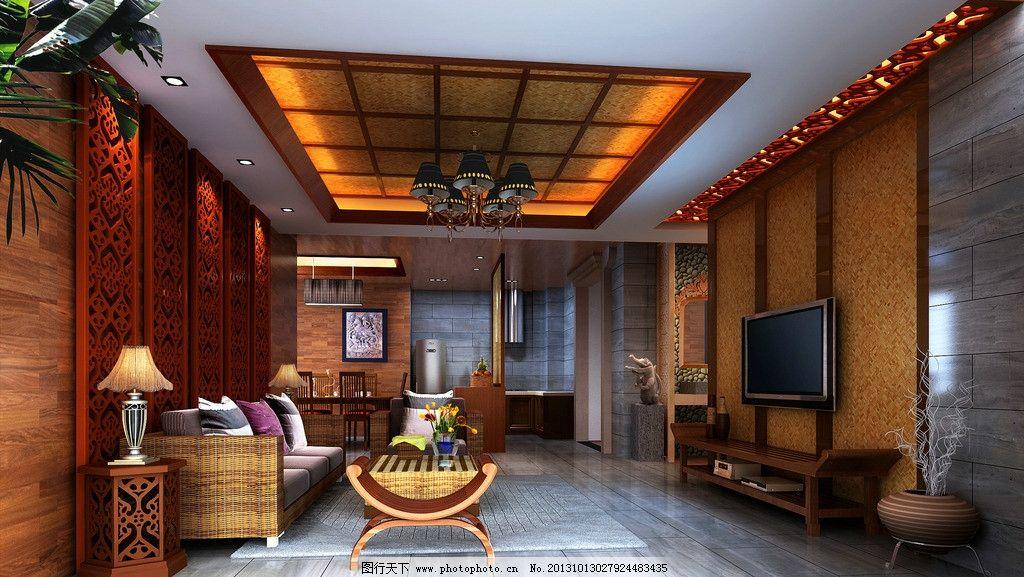 室内效果图 室内        中欧      沙发 室内设计 环境设计 设计 72d图片