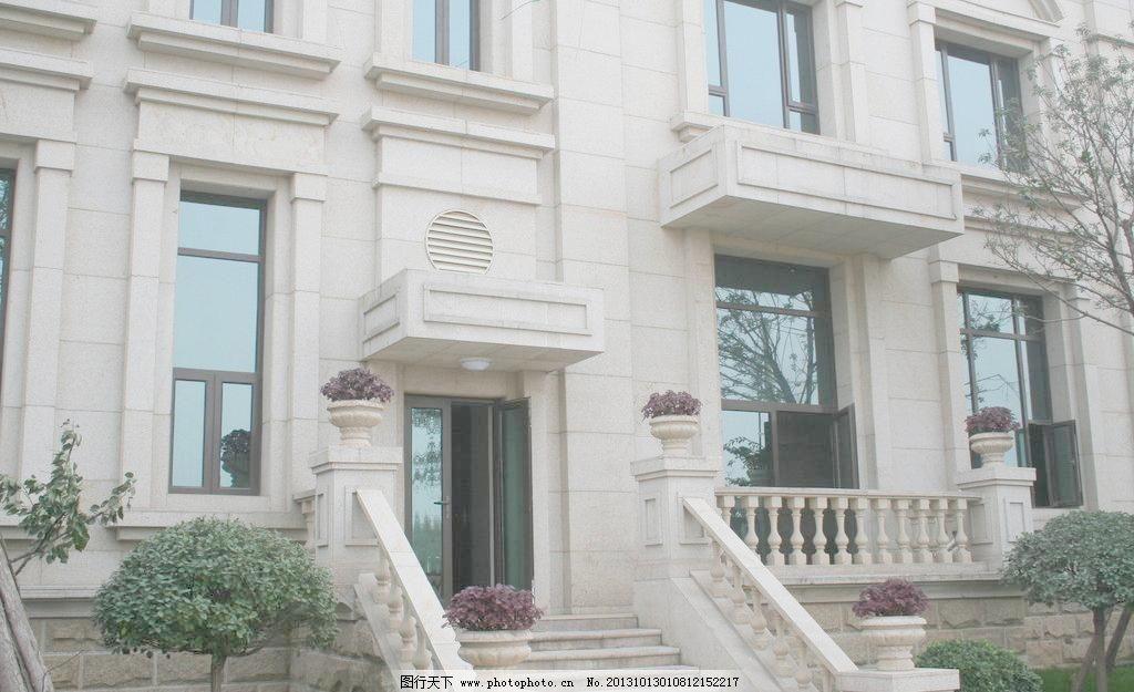 建筑园林 门口 欧式 欧式建筑 摄影 造型 别墅图片素材下载 别墅 欧式
