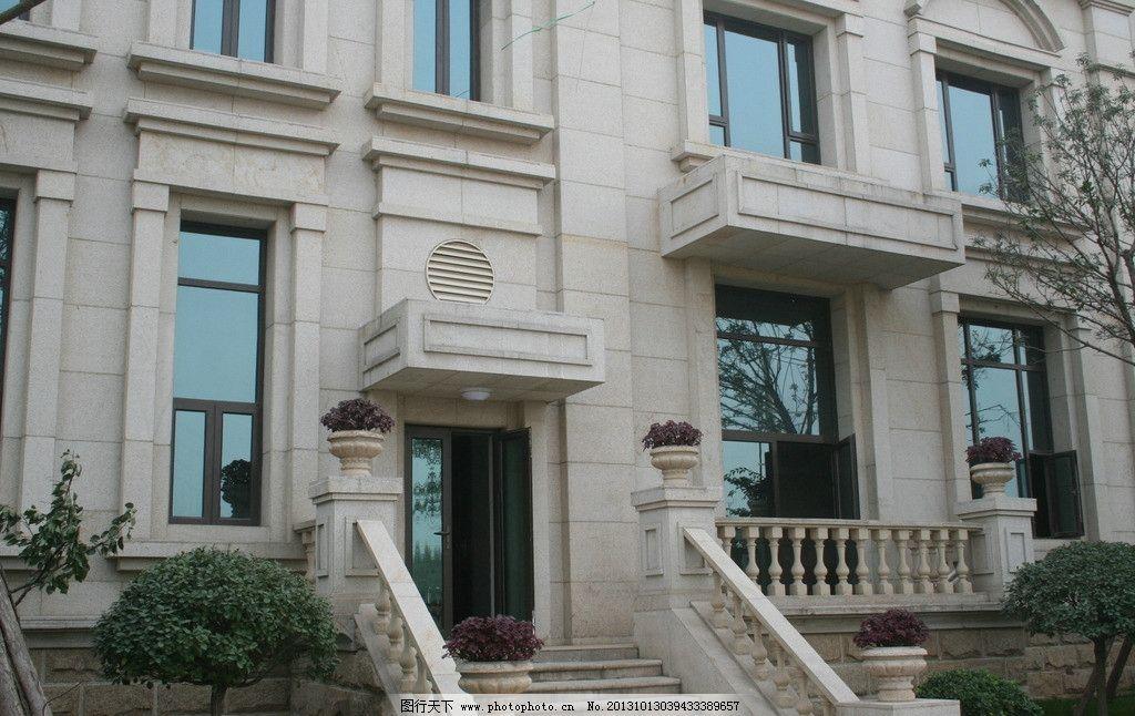 别墅 欧式 门口 造型 欧式建筑 建筑摄影 建筑园林图片
