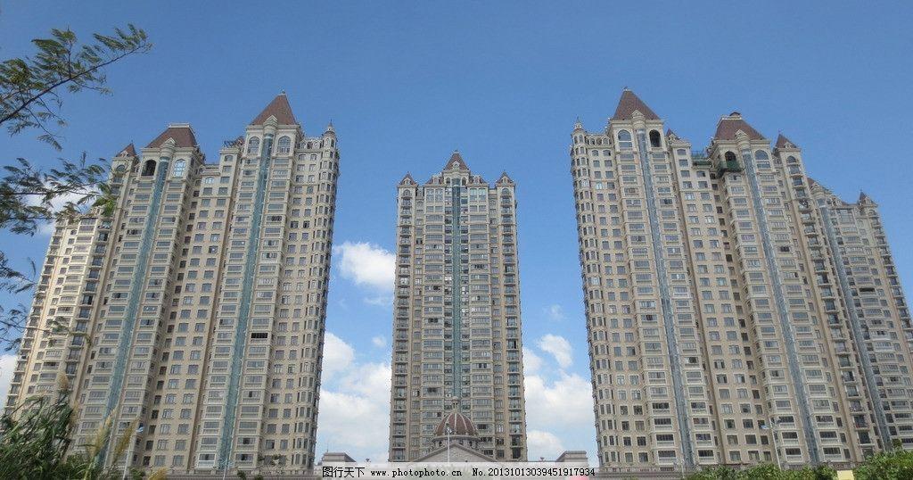 楼房摄影 楼房 摄影 大楼 大厦 高楼 商品房 欧式 哥特式 住宅 豪宅