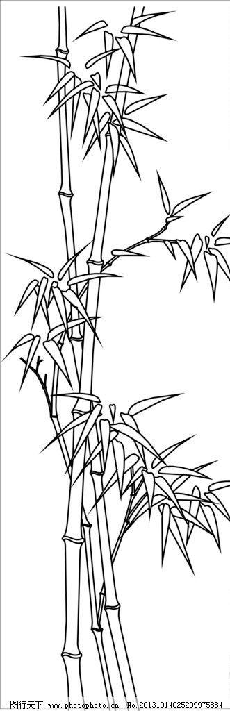 树木画手绘图片