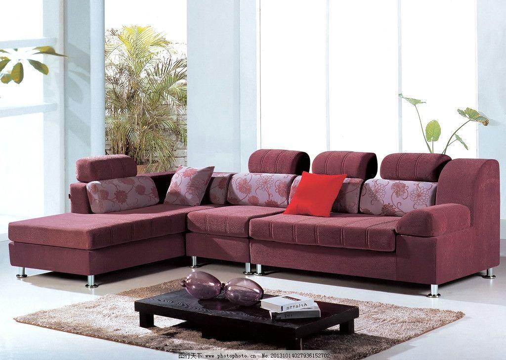 布艺沙发 地毯 壁画 吊灯 时尚家具 家具图片 沙发图片 欧式风格 室内