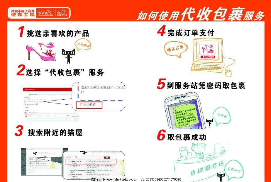 电子商务传单设计 彩页 宣传单设计 宣宣传页模板 电子商务彩页设计