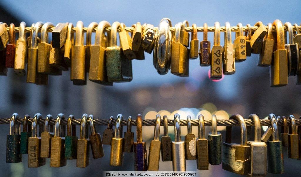 铜锁 防盗锁图片