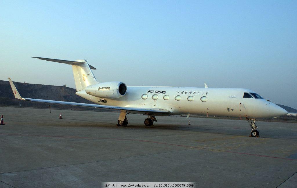 飞机 国航 私人飞机 白云机场 小飞机 交通工具 现代科技 摄影 72dpi