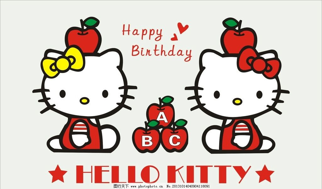 凯蒂猫hello kt 动画人物 动漫人物 可爱人物 凯蒂猫 hello kitty