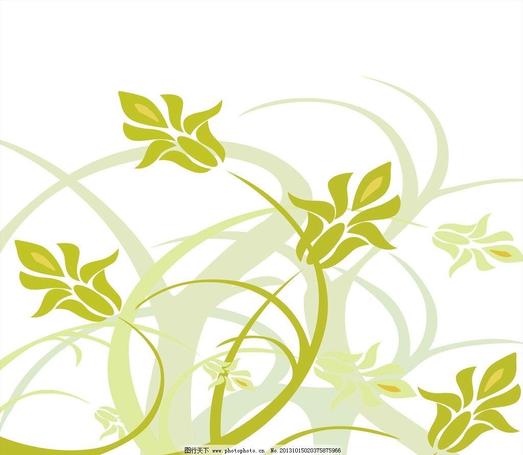 稻黑白画图片 花纹花边图片