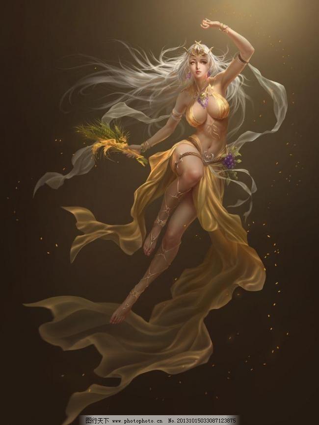 女神联盟 游戏人物设计素材 游戏人物 游戏 动漫人物 美女 设计 动漫
