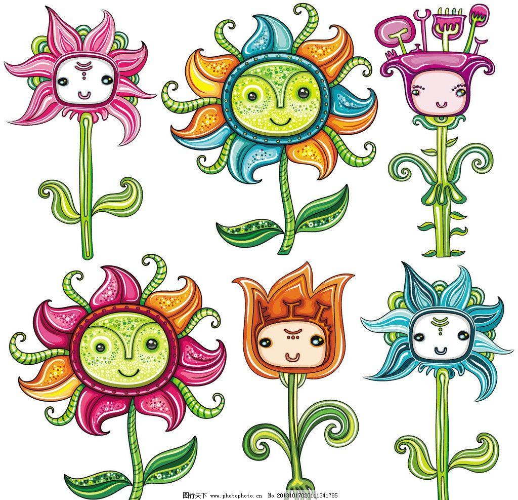 布纹 装饰画 时尚色彩 卡通底纹 本本封面 花纹 儿童服装 儿童绘画