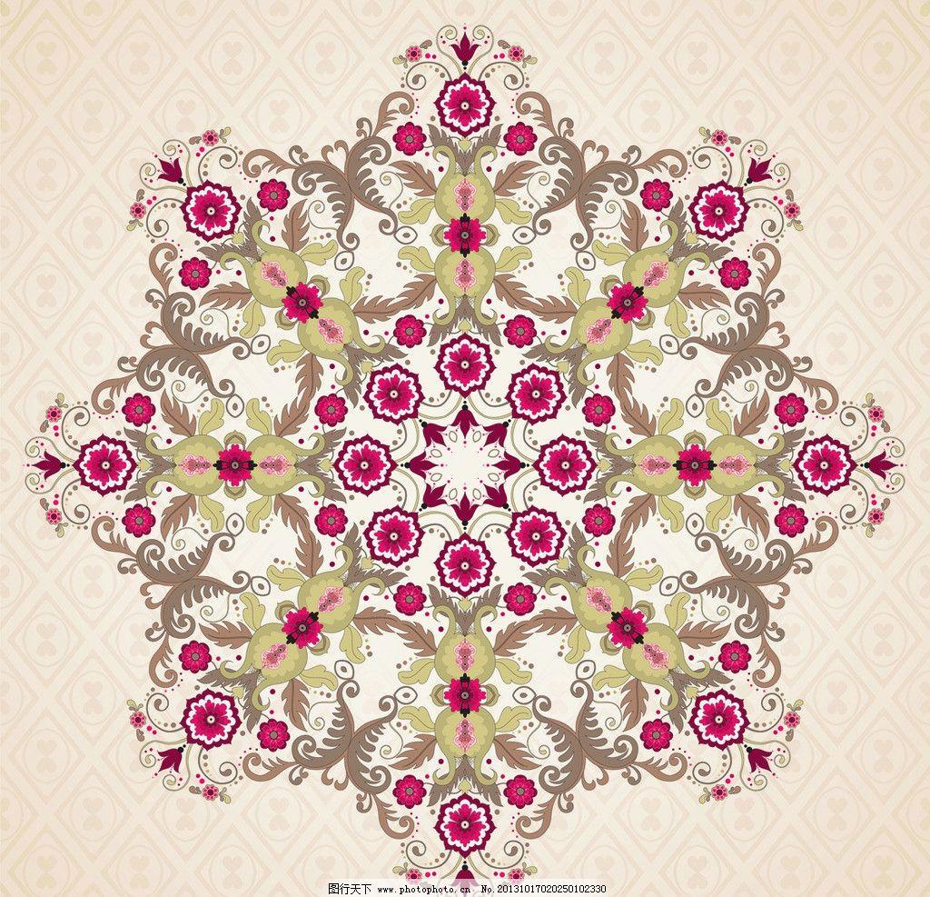 欧式 花卉 贵族 皇室 植物 古典 彩色 时尚 潮流 花纹 花边 边框 豪华
