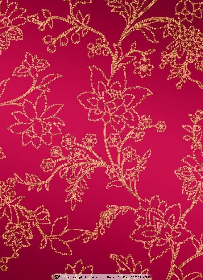 线描底纹 喜庆背景 底纹素材 欧式底纹 欧美花纹 中式花纹 现代装饰