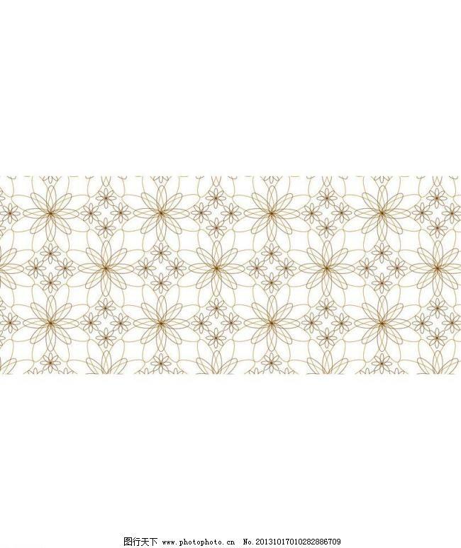花朵移门 背景 背景底纹 底纹边框 花朵移门模板下载 线条 花朵移门设计素材