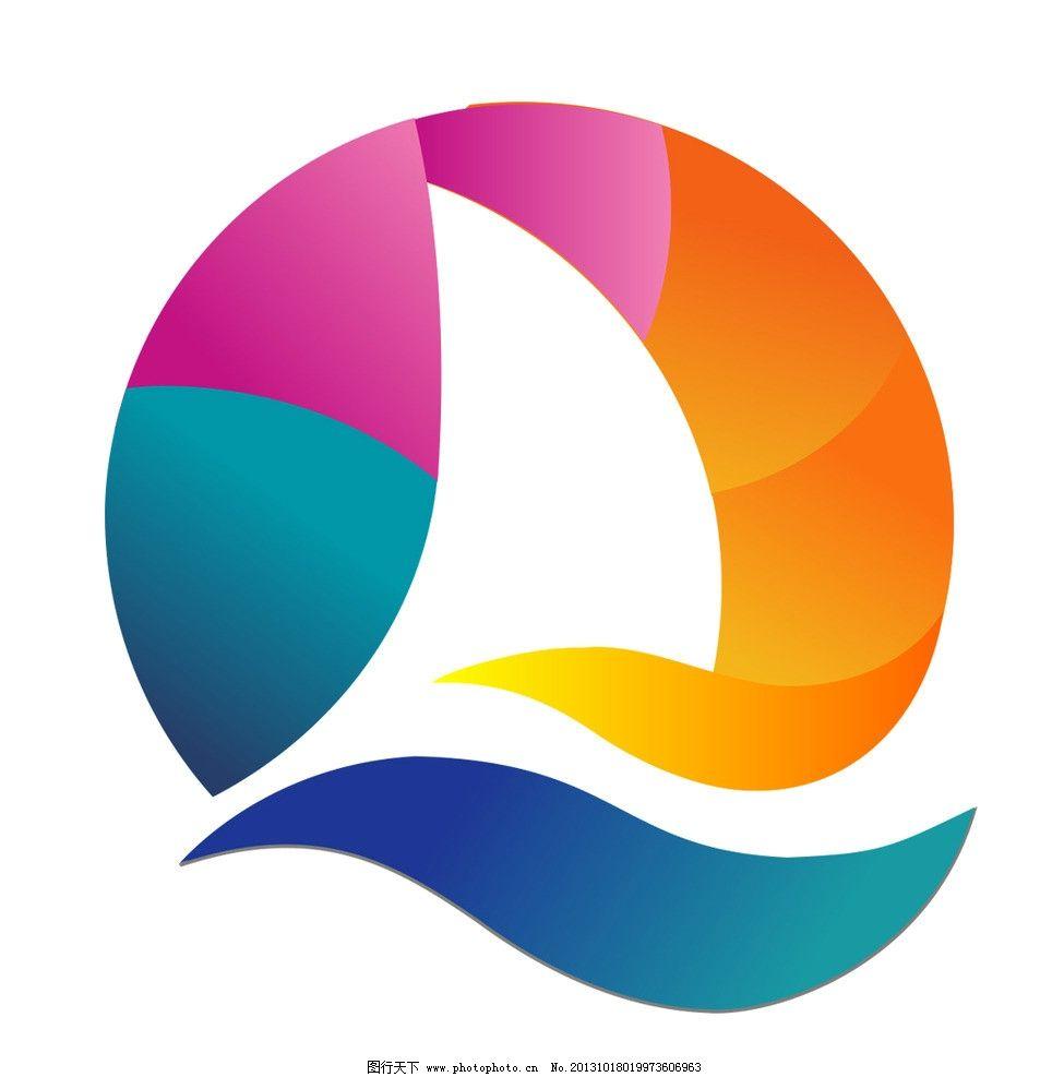 青岛 帆船 运动 素材      企业logo标志 标识标志图标 矢量 ai