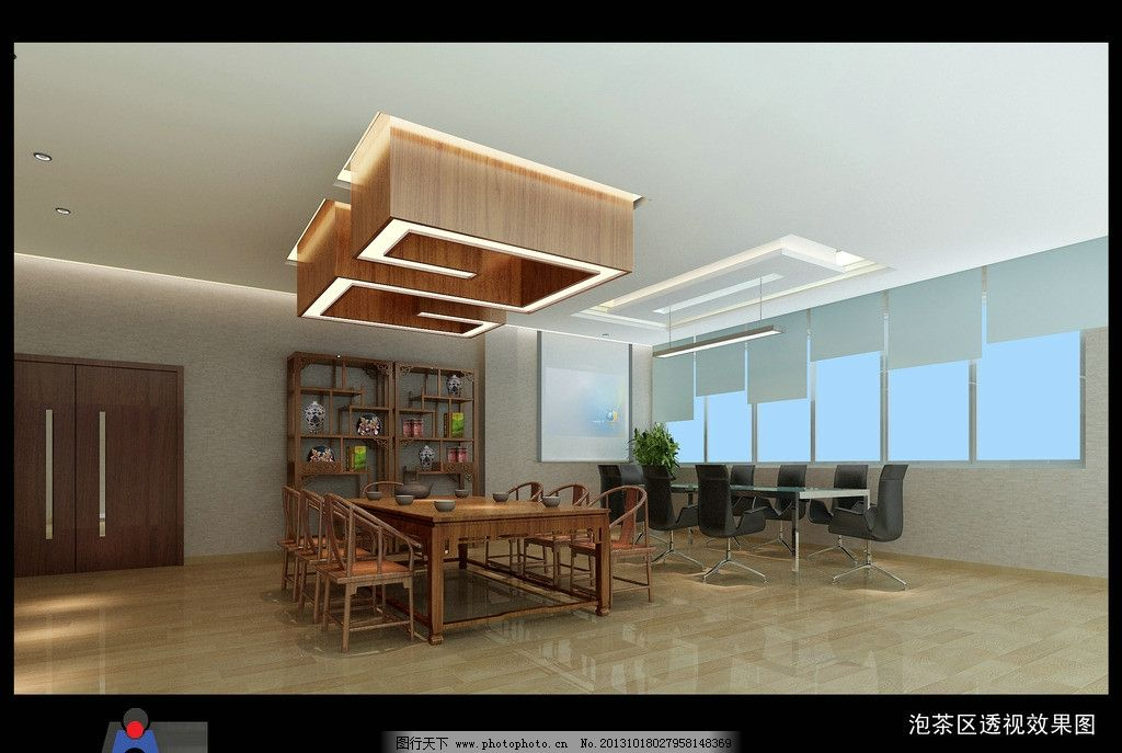室内效果图        室内 桌椅 茶具 茶室 室内设计 环境设计 设计 150