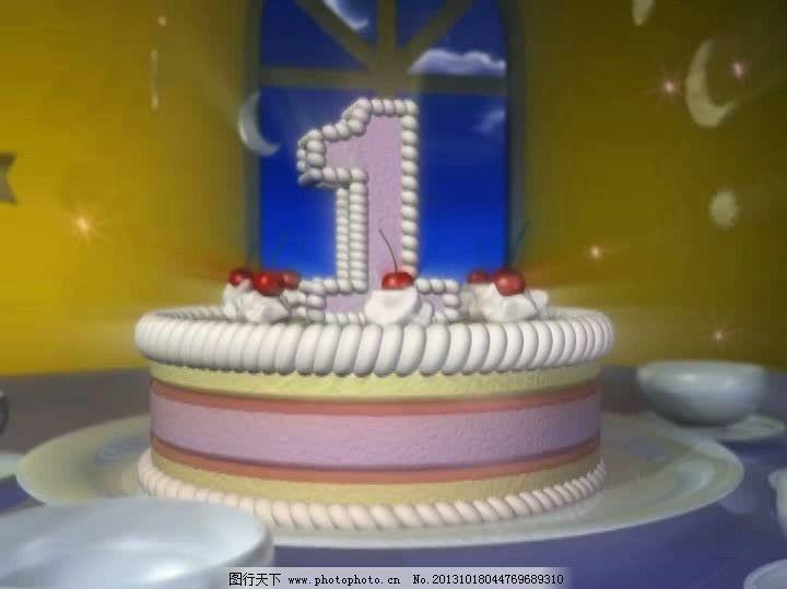 生日蛋糕 视频素材/生日蛋糕视频素材