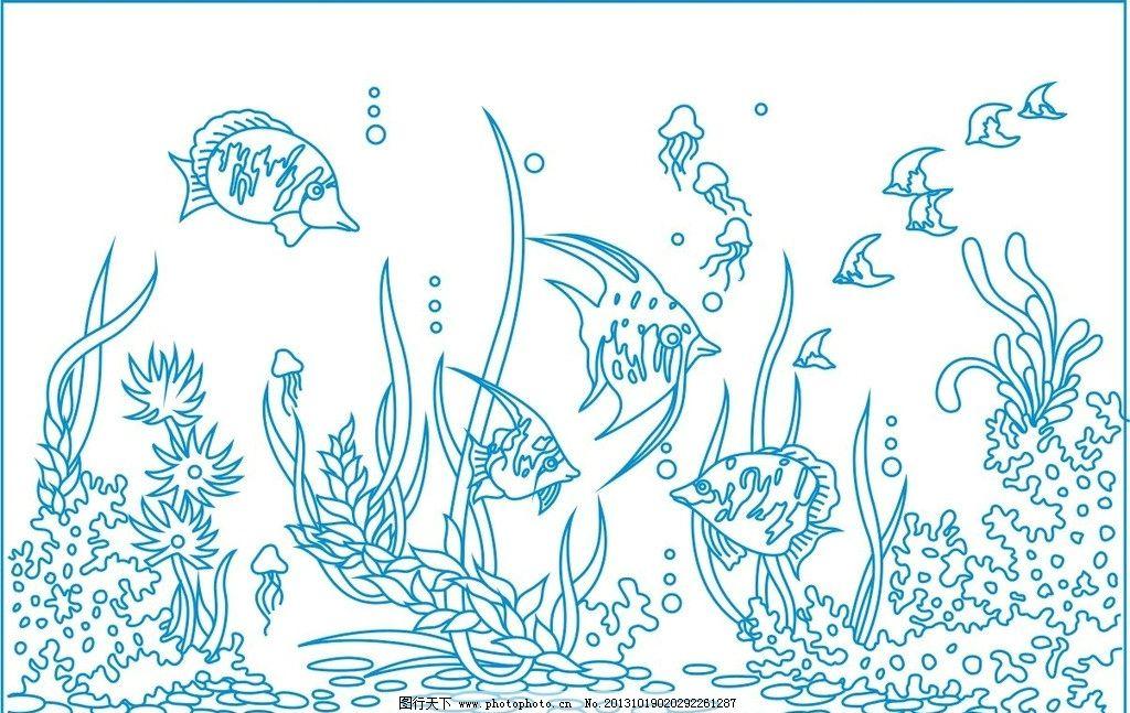 海底世界图片_背景底纹