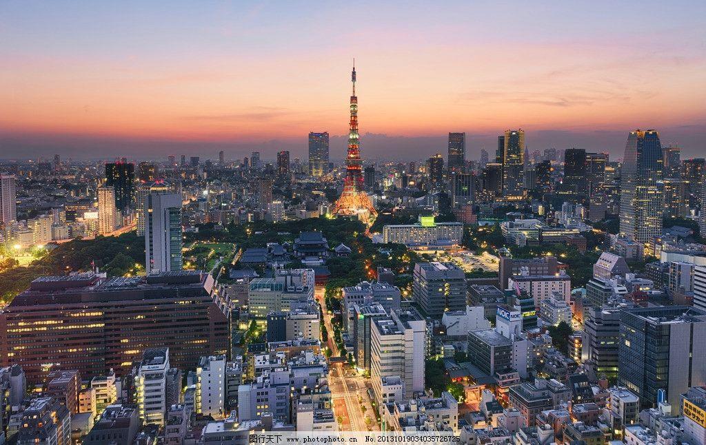 东京铁塔图片
