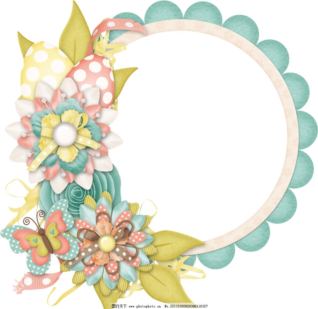 花纹背景 布艺相框 花朵相框 布艺 创意 相框 底纹 边框 底纹边框图片